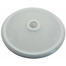 LED surface-mounted light 12W 820Lm K4000 PIR motion detector