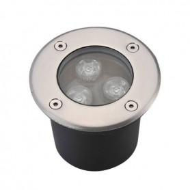 LED Bodeneinbaustrahler 3W Ø100mm IP65 3000K/4000K