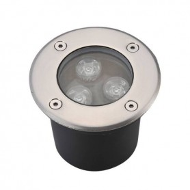 LED groundlight 3W Ø100mm IP65 3000K/4000K