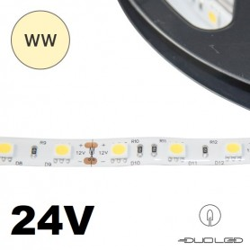 LED Strip SMD5050 24V 14.4W/m K3000 IP65 60LED/m