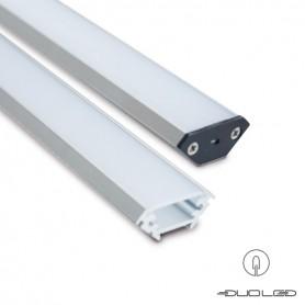 Alu Eck-Profil 25x25 2m. Set