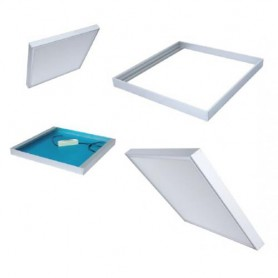 Click Surface mountingframe 62x62cm white