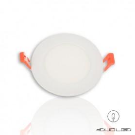LED flat panel Ф120mm 6W 540Lm K3000-4000-6000