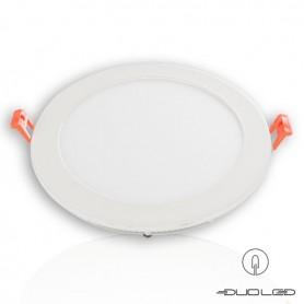 LED flat panel Ф145mm 9W 810Lm K3000-4000-6000