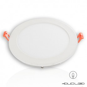 LED flat panel Ф190mm 15W 1350Lm K3000-4000-6000