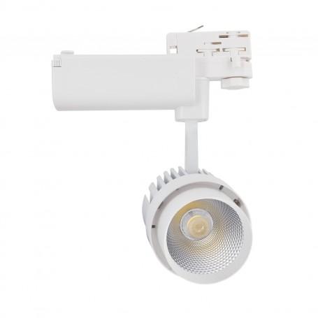 LED tracklight COB 30W 2400Lm K3000-4000-6000