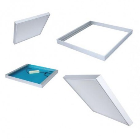 Click Surface mountingframe 30x60cm white