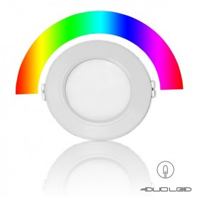 LED panel Ф110mm 6W RGB+CCT 2.4Ghz WIFI IP54