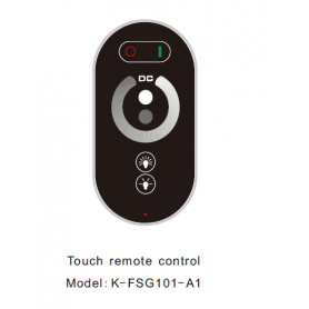 RF-remote control for RF power supply dimmable