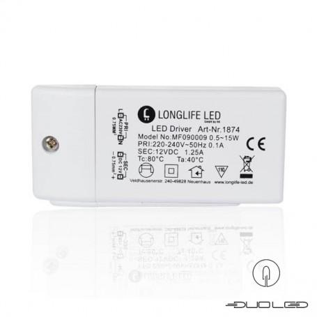 LED Netzteil 15 Watt DC 12V 1,25A IP20