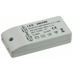 LED powersupply 12W DC12V 1,0A IP20