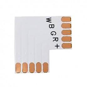 LED strip corner connector 12mm RGBW strip 90°