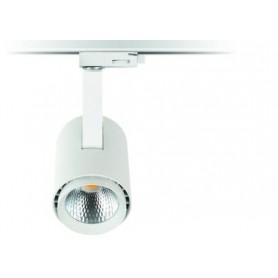 LED Schienenstrahler CREE 40W 3400Lm K4000 schwarz/weiß