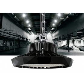 LED UFO highbay light Bridgelux/Meanwell 190Lm/W 70W