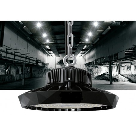 LED UFO highbay light Bridgelux/Meanwell 190Lm/W 110W