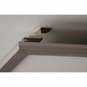Wall- ceiling mountingset for LED panel
