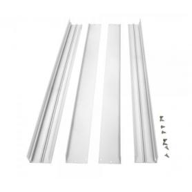 Surface mountingframe 60x60cm white