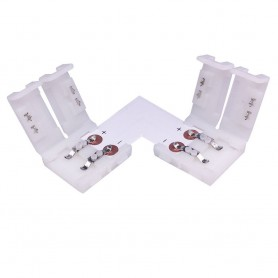 LED Strip L-connector 2core 10mm