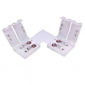 LED Strip Winkelverbinder 2polig 10mm