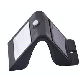 Solar Akku Wandleuchte 3W Smart PIR & Lichtsensor