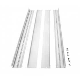 Surface mountingframe 62x62cm white