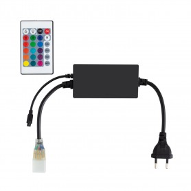 230V LED Strip RGB Controller mit Fernbedienung