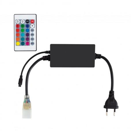 230V LED Strip RGB Controller mit Fernbedienung