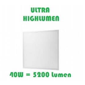 LED Panel EPISTAR 62x62cm 40W ULTRA-Highlumen Weiß