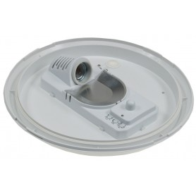 LED wall/ceilinglight IP44 for E27  HF-sensor