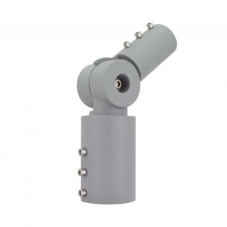 Bracket 70mm tube 90° turnable