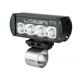Lazer tube brackets 42mm mattesilver