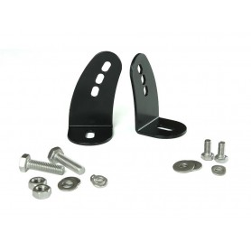 Lazer side mounting kit stainless steel black
