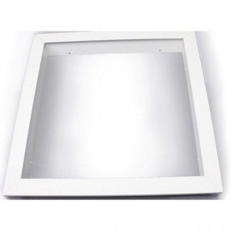 Recessed mountingframe 60x60cm white