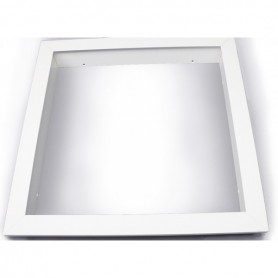 Recessed mountingframe 60x120cm white