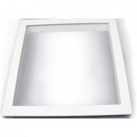 Recessed mountingframe 60x120cm white