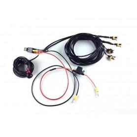 Lazer wire-harness kit 4 lamp-switch ST-Serie-TripleR-Linear