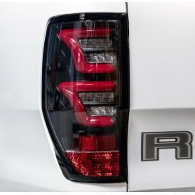 Lightbar LED rear lights Ford Ranger T6 T7 2012+ black