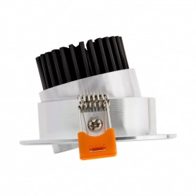 LED Spot Ф85mm 7W 560Lm K3000-4000-6000 silver