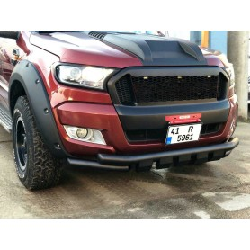 Ford Ranger Nudgebar black or chrome