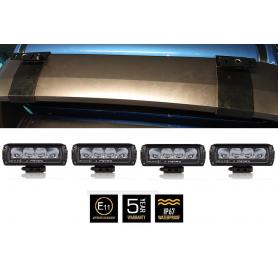 Ford Ranger Wildtrak/Raptor Sportsbar Clamp Lamp Bracket Set 4