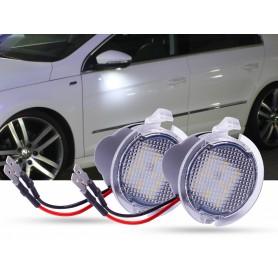 LED ambient lights mirror 2pcs set