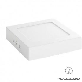 LED Ceiling light square white 12W 960Lm 172x172mm