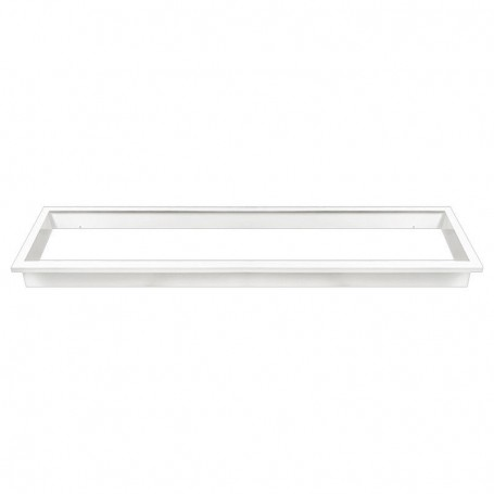 Recessed mountingframe 30x120cm white