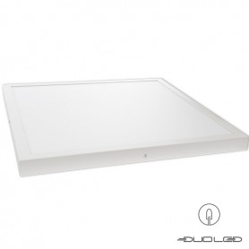LED on-surface-light square white 48W 3700Lm 600x600mm