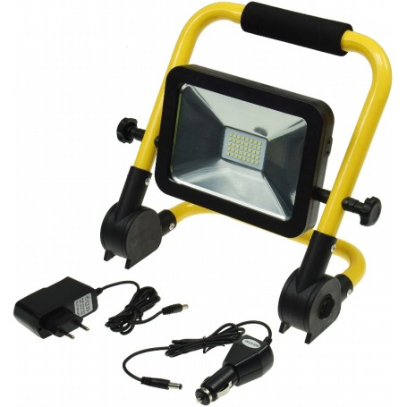 LED rechargeable battery floodlight 20W K4000